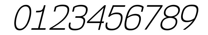 NK57MonospaceScLt-Italic Font OTHER CHARS