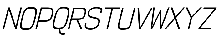 NK57MonospaceScLt-Italic Font UPPERCASE