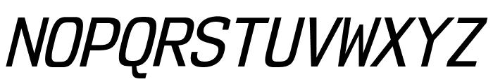 NK57MonospaceScRg-Italic Font UPPERCASE