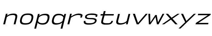 NK57MonospaceSeBk-Italic Font LOWERCASE