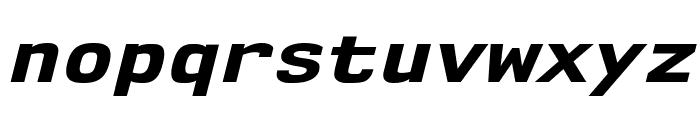 NK57MonospaceSeEb-Italic Font LOWERCASE
