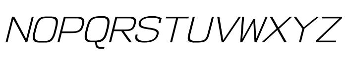 NK57MonospaceSeLt-Italic Font UPPERCASE