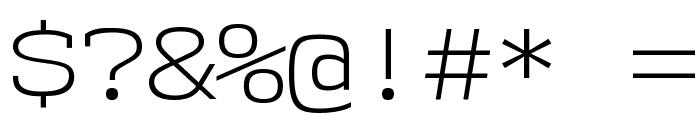 NK57MonospaceSeLt-Regular Font OTHER CHARS