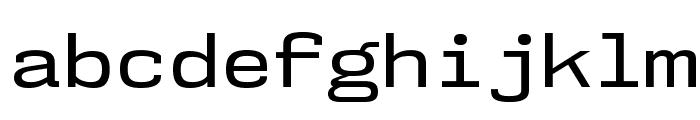 NK57MonospaceSeRg-Regular Font LOWERCASE