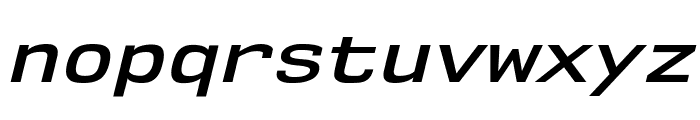 NK57MonospaceSeSb-Italic Font LOWERCASE