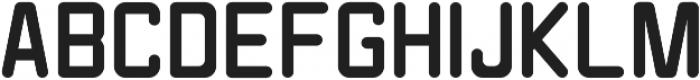 NN1050 Regular otf (400) Font UPPERCASE