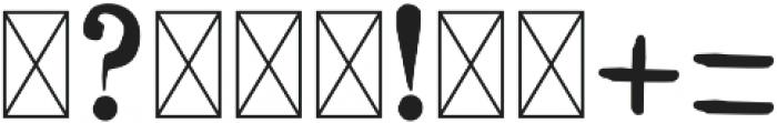 NN1890 Regular otf (400) Font OTHER CHARS