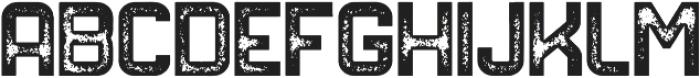 NORTHDEN ROUGH Regular otf (400) Font LOWERCASE