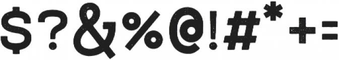 NORTHWEST Bold Rust otf (700) Font OTHER CHARS