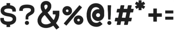 NORTHWEST otf (700) Font OTHER CHARS