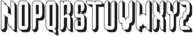 No. 5 otf (400) Font UPPERCASE