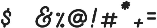 Nocturne Regular otf (400) Font OTHER CHARS