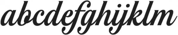 Noelia Script Pro otf (400) Font LOWERCASE