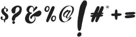 Noera  otf (400) Font OTHER CHARS