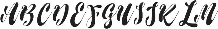 Noera  otf (400) Font UPPERCASE