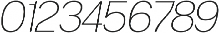 Noirden Extra Light Oblique otf (200) Font OTHER CHARS