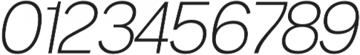 Noirden Light Oblique otf (300) Font OTHER CHARS