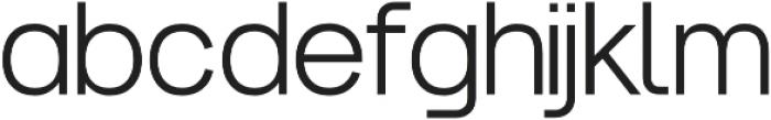 Noirden Regular otf (400) Font LOWERCASE