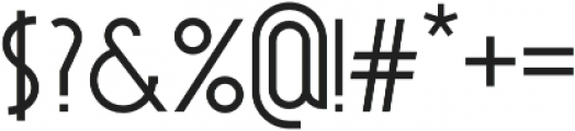 Noirside otf (400) Font OTHER CHARS