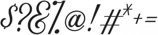 Nomah Script Light otf (300) Font OTHER CHARS
