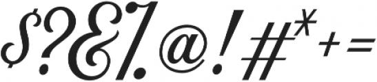 Nomah Script Medium otf (500) Font OTHER CHARS