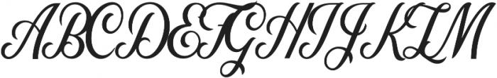 Nomah Script Medium otf (500) Font UPPERCASE