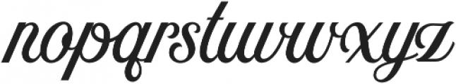 Nomah Script Medium otf (500) Font LOWERCASE