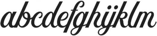 Nomah Script Semibold otf (600) Font LOWERCASE