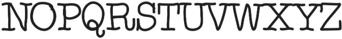 Noodlerz Medium otf (500) Font UPPERCASE