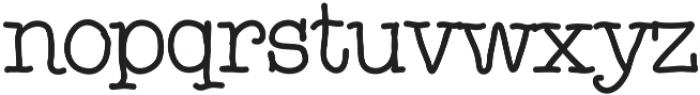 Noodlerz Medium otf (500) Font LOWERCASE