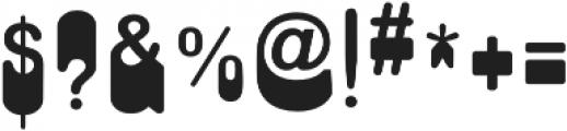 Nope Regular otf (400) Font OTHER CHARS