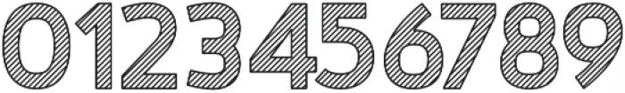 Nora Art Line Outline otf (400) Font OTHER CHARS
