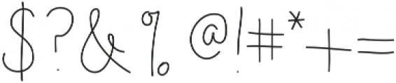 NoraLight ttf (300) Font OTHER CHARS