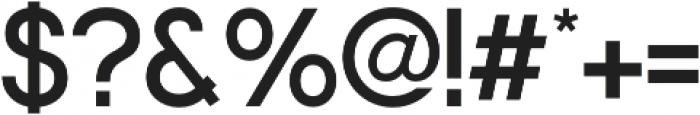 Nordeco SemiBold otf (600) Font OTHER CHARS
