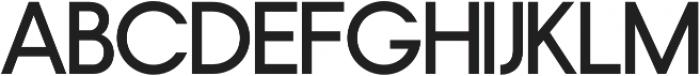 Nordeco SemiBold otf (600) Font UPPERCASE