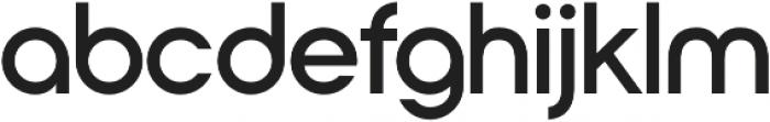 Nordeco SemiBold otf (600) Font LOWERCASE