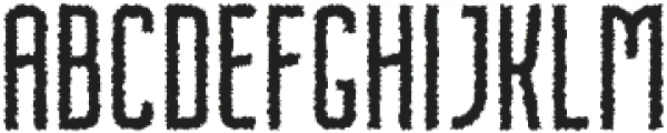 Nordin Rough otf (400) Font UPPERCASE