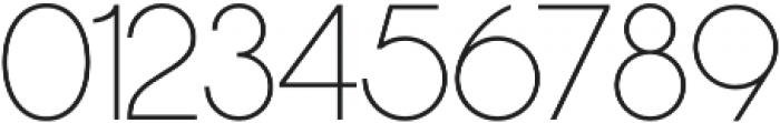 Nordique Pro Light otf (300) Font OTHER CHARS