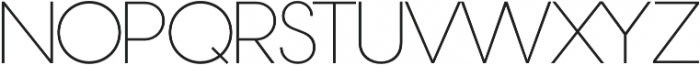 Nordique Pro Light otf (300) Font UPPERCASE