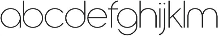 Nordique Pro Light otf (300) Font LOWERCASE