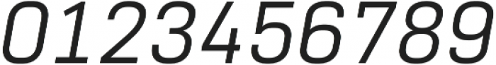 Normative Lt Italic otf (400) Font OTHER CHARS