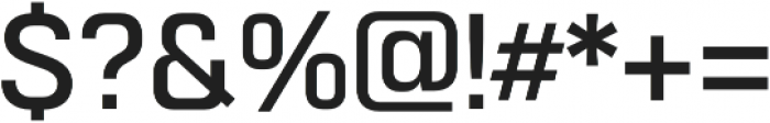Normative Lt Medium otf (500) Font OTHER CHARS