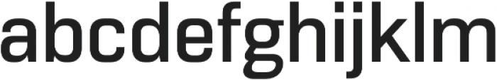 Normative Lt Medium otf (500) Font LOWERCASE