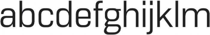 Normative Lt Regular otf (400) Font LOWERCASE