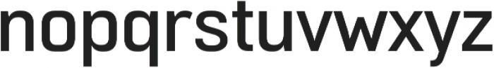 Normative Pro Medium otf (500) Font LOWERCASE