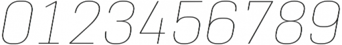 Normative Pro Thin Italic otf (100) Font OTHER CHARS