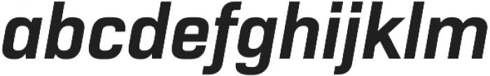 Normative Pro otf (700) Font LOWERCASE