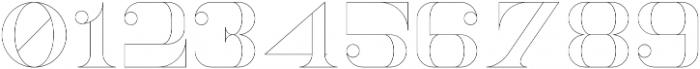 NorthEast Outline otf (400) Font OTHER CHARS
