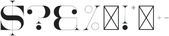 NorthEast Regular otf (400) Font OTHER CHARS
