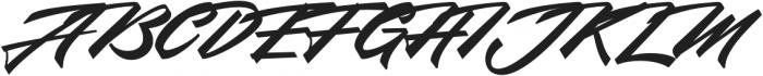 Northern Freedom otf (400) Font UPPERCASE